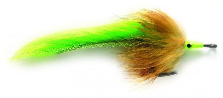 Fulling Mill Salzwasserfliege - Tarpon Bunny chartreuse