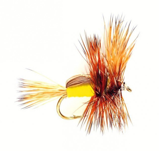 Fulling Mill - Yellow Humpy
