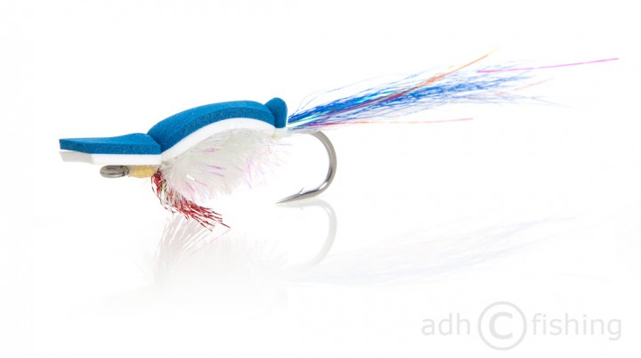 Fulling Mill Streamer - Gurgler white
