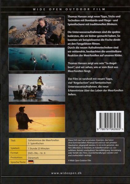 DVD - Geheimnisse der Meerforellen Spinnfischen 5