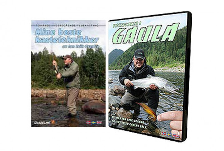 DVD 2er Set: My best casting techniques with Jan Erik Granbo und Fishing Sommer on the River Gaula