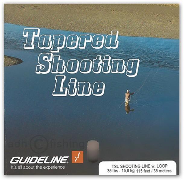 Guideline TSL Tapered Shooting Line Running Line mit Schlaufen