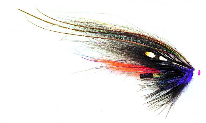 Frödin Flies Tubenfliege Classic Series - Black & Silver