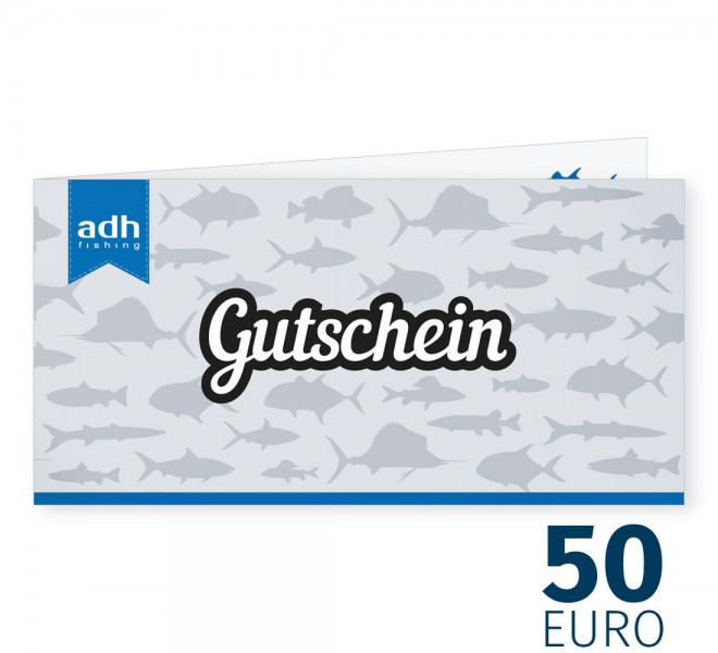 50 Euro Warengutschein von adh-fishing