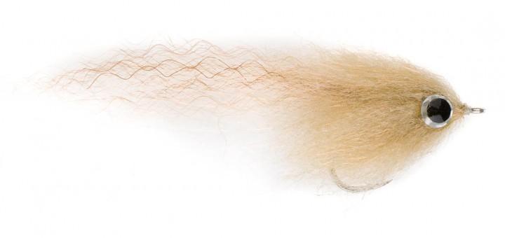 H2O Salzwasserfliege - Brush Fly tan