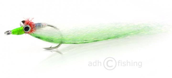 H2O Streamer - Clouser Minnow green