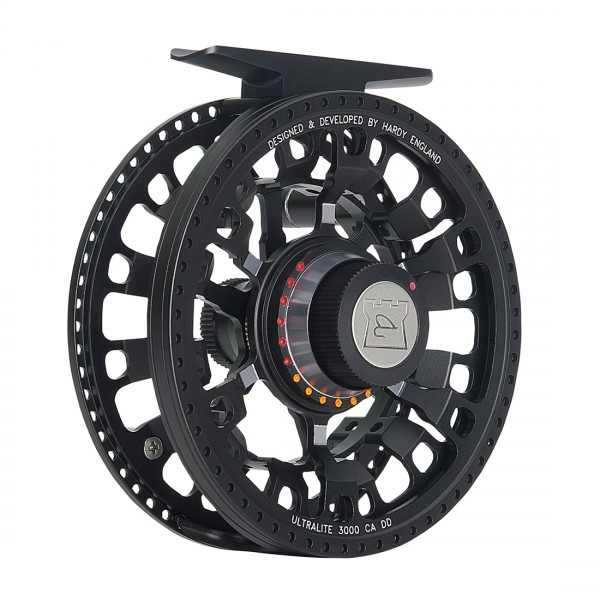 Hardy Ultralite CA DD Black Disc Drag Fliegenrolle