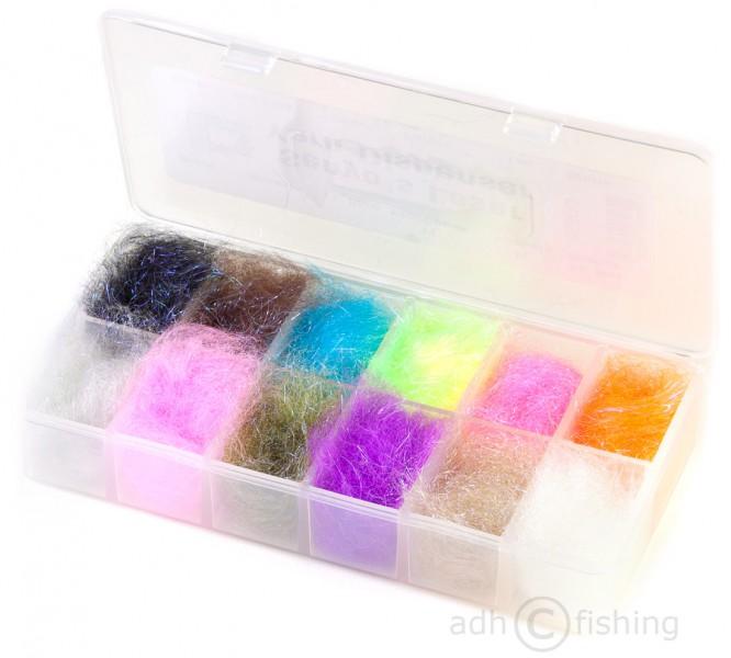 Dubbing Dispenser Hareline Senyos Laser Yarn