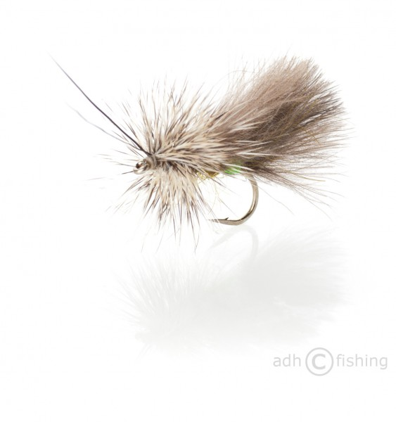 Fulling Mill Trockenfliege - High Rider CDC Sedge Olive