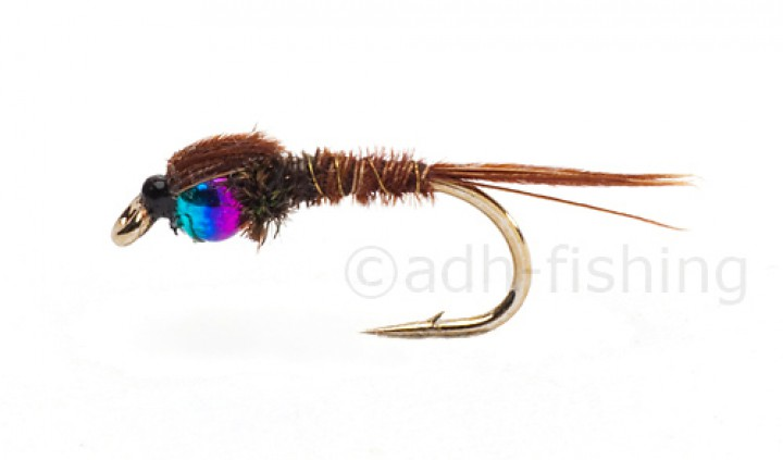 Fulling Mill Nymphe - Hot Head Pheasant Tail Rainbow