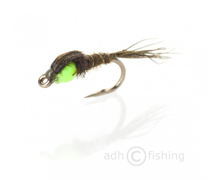 Fulling Mill Nymphe - Hot Head Pheasant tail green