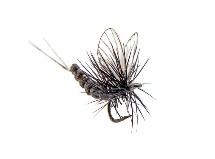 J:son Realistic Flies - Mayfly Dun Black