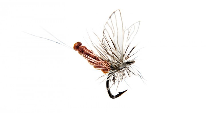 J:son Realistic Flies - Mayfly Dun 5 rusty red