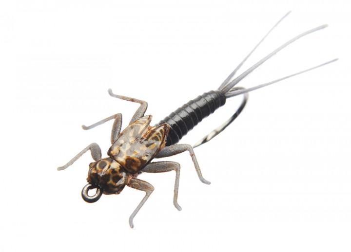J:son Realistic Flies - Mayfly Nymph 3/4 black