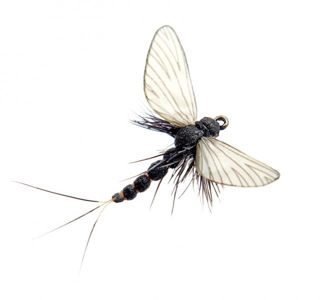 J:son Realistic Flies - Mayfly Spent black