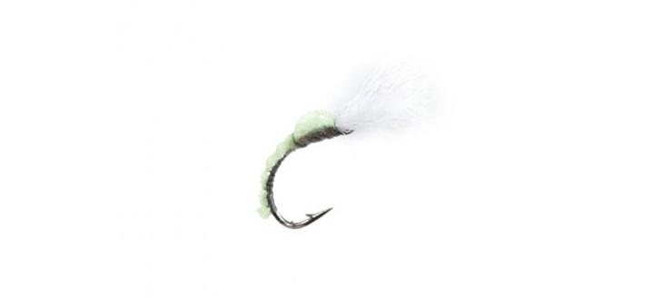 J:son Realistic Flies - Midge Pupa - 5 Green