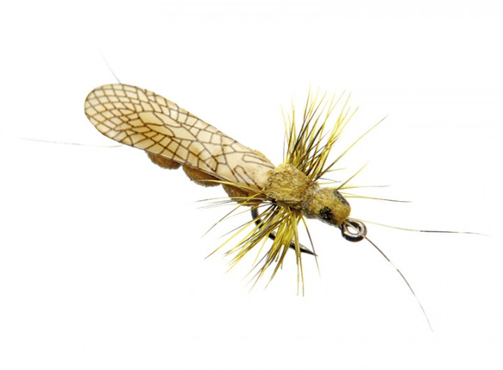 J:son Realistic Flies - Stonefly Adult yellow