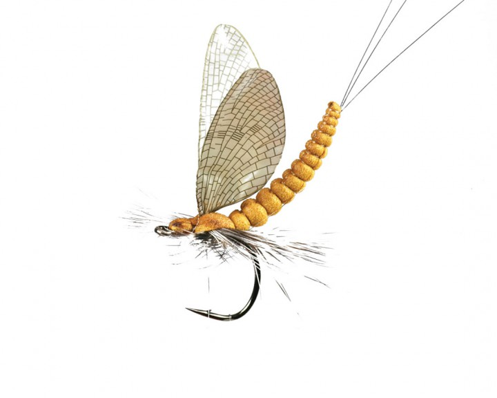 J:son Realistic Flies - Mayfly Dun cinnamon Brown