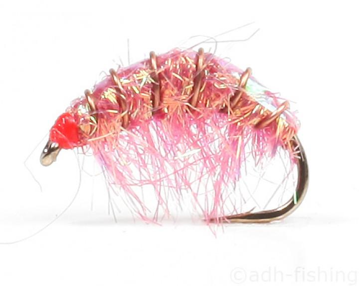 Fulling Mill Meerforellenfliege - Lite Brite Shrimp Mating
