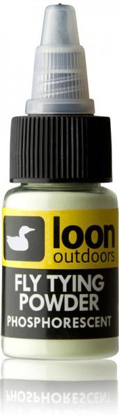 Loon Fly Tying Powder Binde-Puder u. a. phosphoreszierend