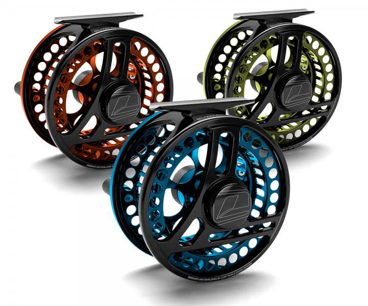 Loop Evotec G4 Fliegenrolle farbig