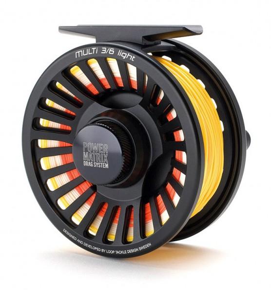 Loop Multi 3/6 Light Fliegenrolle