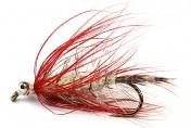 Meerforellenfliege Mallard Magnus rot