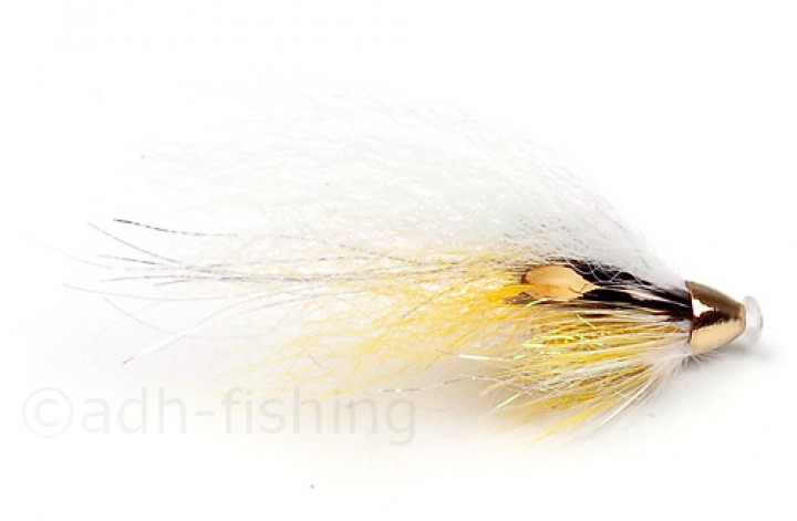 Frödin Flies Micro Tubenfliege - Yellow White Wing