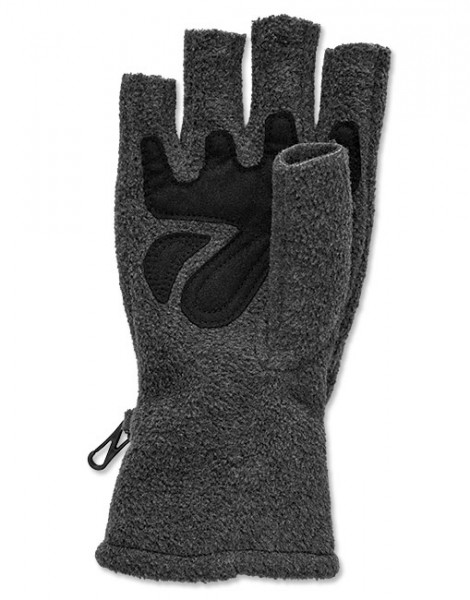 Orvis Basic Fleece Fingerless Gloves Handschuh