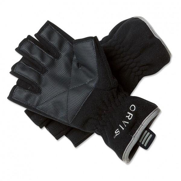 Orvis Fleece Fingerless Gloves Handschuh