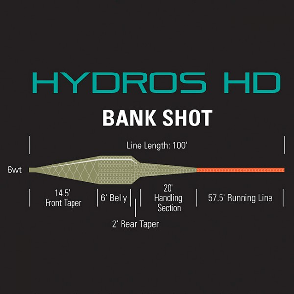 Orvis Hydros HD Bank Shot Fliegenschnur
