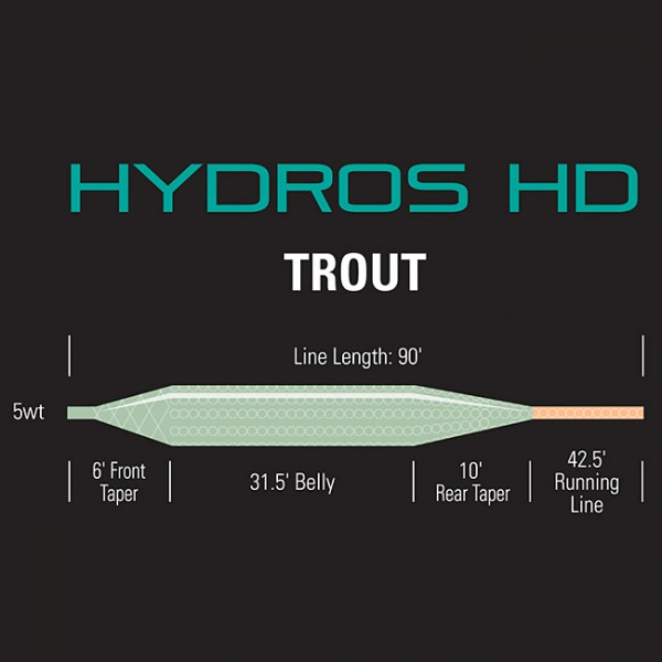 Orvis Hydros HD Trout Fliegenschnur