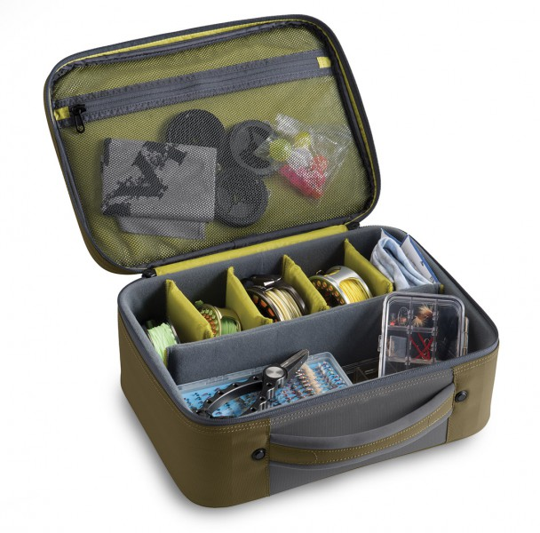 Orvis Safe Passage Reel Briefcase Rollentasche