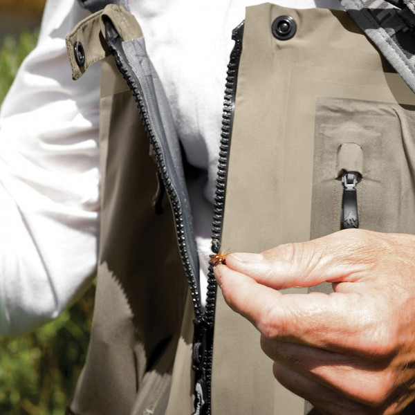Orvis Silver Zippered Wathose