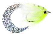 Pacchiarini's Wiggle Tail Hechtstreamer fluo gelb / weiß