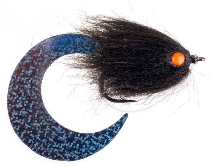 Pacchiarini's Wiggle Tail Hechtstreamer schwarz