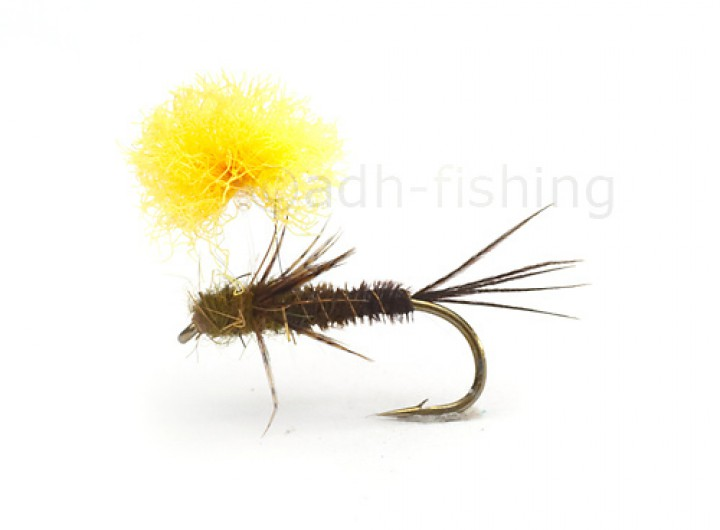 Fulling Mill Trockenfliege - Parasol Pheasant Tail olive