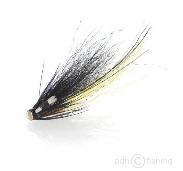 Fulling Mill Tubenfliege - Piglet black and yellow beschwert