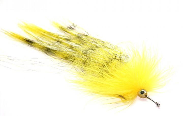 Pike Muppet gelb/schwarz von Umpqua