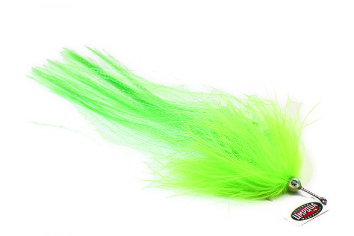 Pike Muppet grün von Umpqua