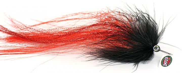 Pike Muppet rot/schwarz von Umpqua