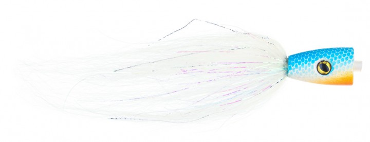 Pike Terror Flies Hechtstreamer Popper Tube BWS inkl. Haken