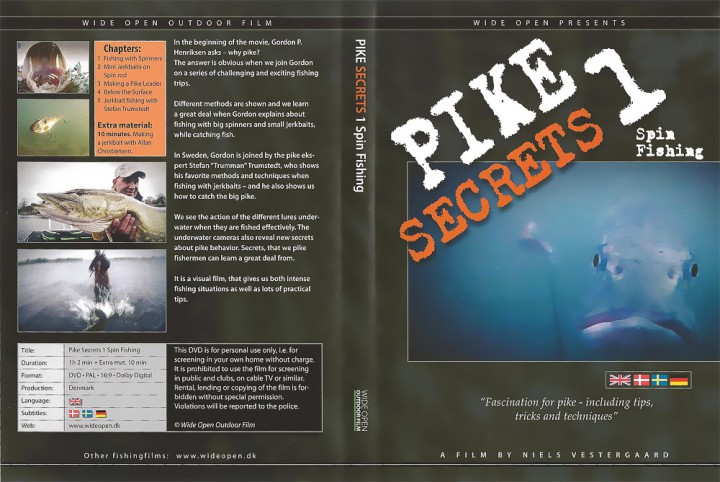 DVD - Pike Secrets 1 Spin Fishing