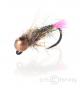 Fulling Mill Nymphe - Pink Tag Jig