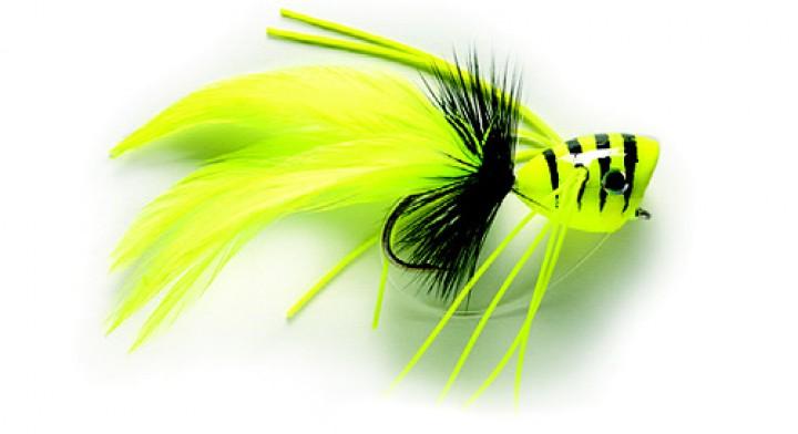 Fulling Mill Streamer - Hechtpopper chartreuse