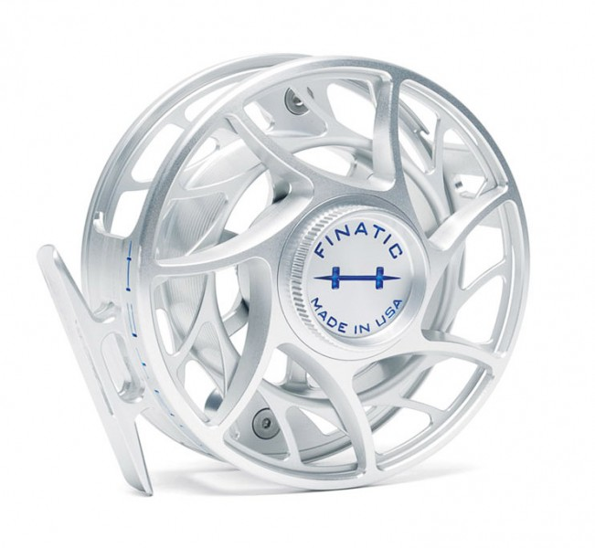 Hatch Finatic Plus Fliegenrolle clear blue