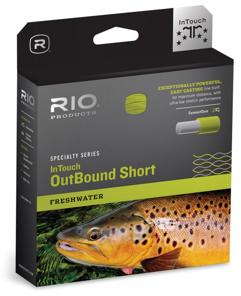 Rio OutBound Short InTouch Freshwater Floating Fliegenschnur