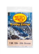 Rio Toothy Critter Tapered Leader Stahlvorfach 15 lbs bronze