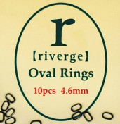 Riverge Vorfach Ringe oval
