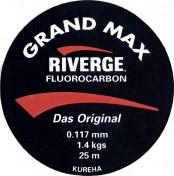 Riverge Fluorcarbon Grand Max 25m Spule